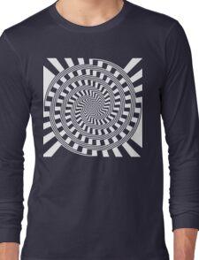 Self-Moving Unspirals Long Sleeve T-Shirt