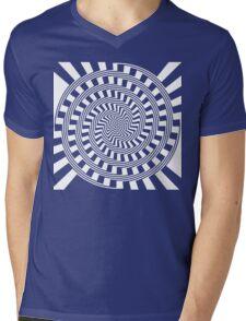 Self-Moving Unspirals Mens V-Neck T-Shirt