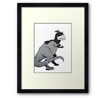 Jurassic Bat  Framed Print
