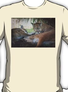 Facing Extinction - Florida Panther T-Shirt