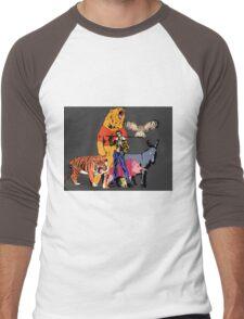Boyz from Da Wood Men's Baseball ¾ T-Shirt