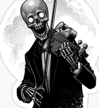 Play song with death Sticker