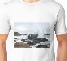 Spray Rock, Weekapaug, RI 2 Unisex T-Shirt