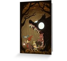 OTGW - The Beast Greeting Card