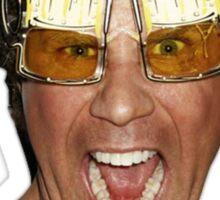 Will Ferrell beer glasses Sticker