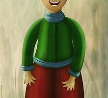 Happy Dwarf by Cornelia Mladenova