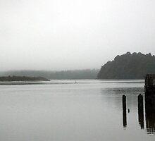 Boat Shed on Still Lake by JeremyFogg