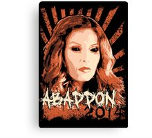 Abaddon 2014 - Queen of Hell Canvas Print