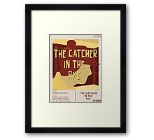Catcher In The Rye - Vintage Movie Poster Style Framed Print