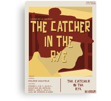 Catcher In The Rye - Vintage Movie Poster Style Canvas Print
