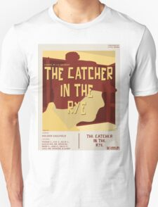 Catcher In The Rye - Vintage Movie Poster Style Unisex T-Shirt