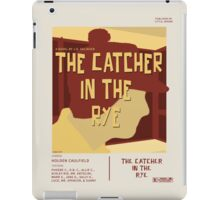 Catcher In The Rye - Vintage Movie Poster Style iPad Case/Skin
