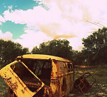 Jus' an ol' beat up kombi by Hope-Karra Robertson