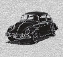 1957 VW Beetle by Quentin Jones