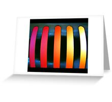 frosted flame Greeting Card