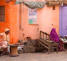 Purple. Pushkar by Claude  Renault