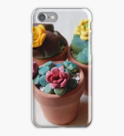 teeny tiny plants iPhone Case/Skin