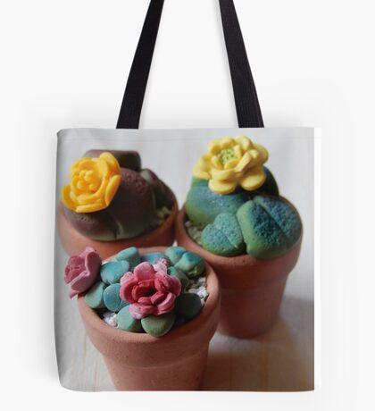teeny tiny plants Tote Bag