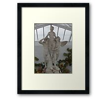 marble'ous Framed Print