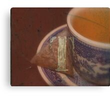 T For Tea Canvas Print