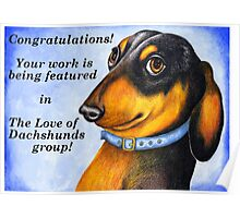 Dachshund's banner challenge entry Poster