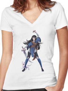 Sabriel, The Abhorsen Women's Fitted V-Neck T-Shirt