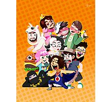 Grump gang and co Photographic Print