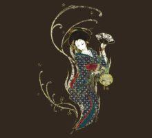 Grungy Geisha Swirly Twirl by Melissa Somerville