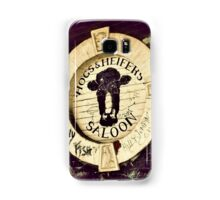 Hogs and Heifers, NYC Samsung Galaxy Case/Skin