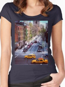 New York City Crossing Women's Fitted Scoop T-Shirt