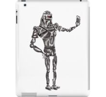 Cute Cylon taking a Selfie iPad Case/Skin