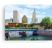 View From Waterplace Park Metal Print