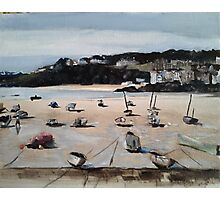 St Ives Cornwall Photographic Print