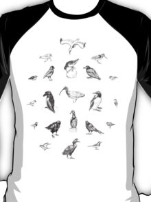 Manx Fauna - (British) Birds T-Shirt