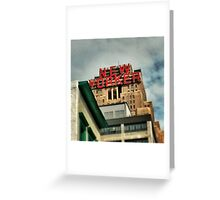 The New Yorker, NYC Greeting Card
