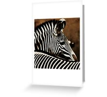 The beauty of stripes Greeting Card