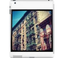 Escapes, NYC iPad Case/Skin