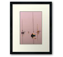 Obscure Horizon Framed Print