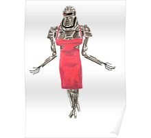 Red Dress Cylon Poster