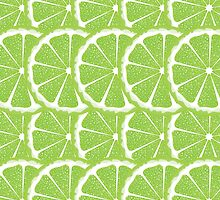 Lime Slices Background by AnnArtshock