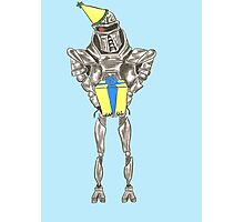 Happy Birthday Cylon Photographic Print