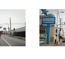 Melrose Avenue + Gower Street, Los Angeles, California, USA...narrowed. by David Yoon