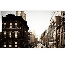 Chelsea from The High Line Photographic Print