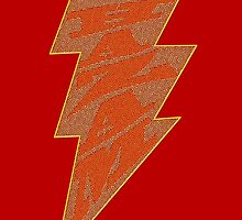 Shazam Red by SquareDog