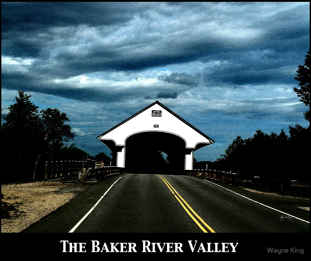 Baker River Valley Poster by Wayne King