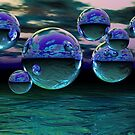 Water World by Sandra Bauser Digital Art