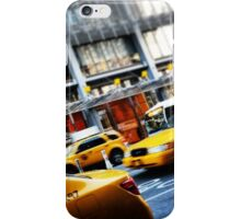 New York City Taxi Cabs iPhone Case/Skin