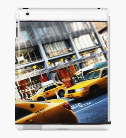 New York City Taxi Cabs iPad Case/Skin