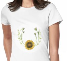 Floral Arrangement #1 Womens Fitted T-Shirt