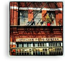 Little Italy, New York City Canvas Print